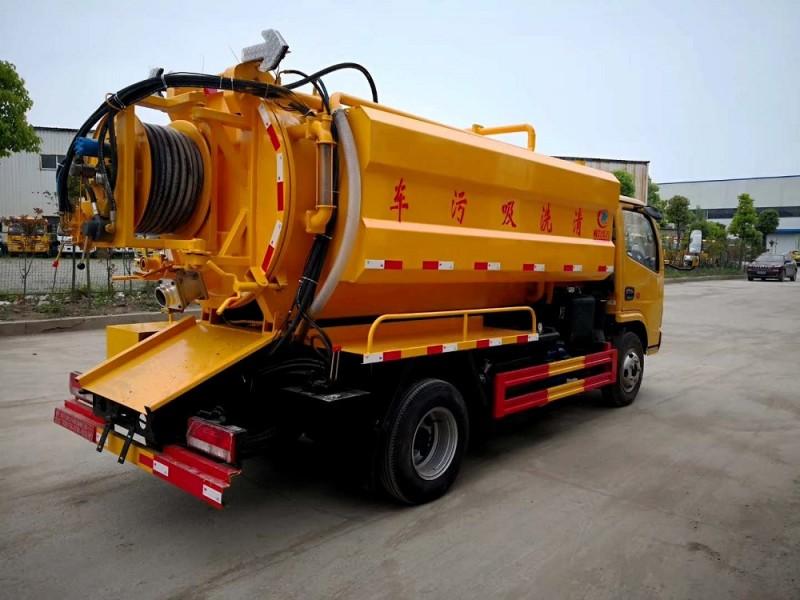 CLW5040GQW5清洗吸污车